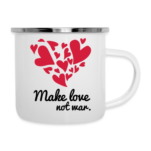 Make Love Not War T-Shirt - Camper Mug