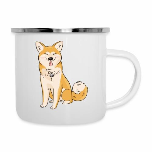 Akita Yuki Logo - Camper Mug
