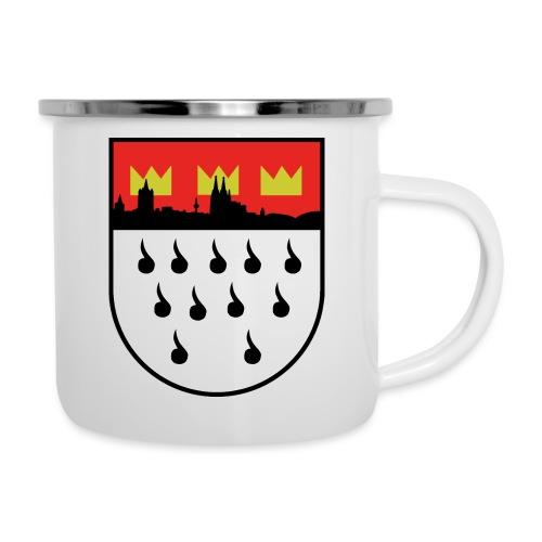 Köln Wappen Modern - Emaille-Tasse