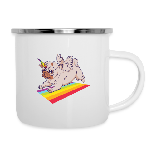 Unicorn Pug Limited Edition - Camper Mug