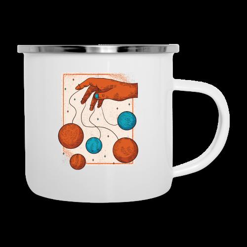 Planets On A String - Camper Mug