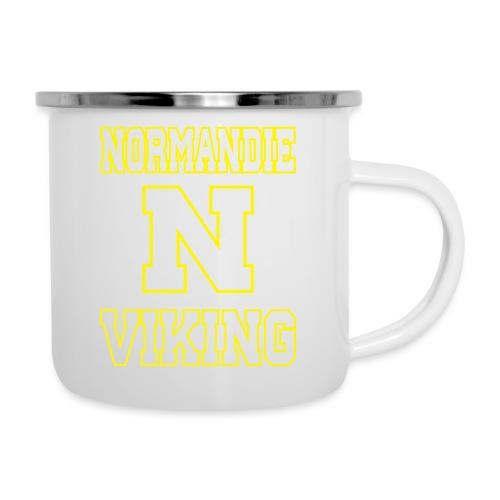 Normandie Viking Def jaune - Tasse émaillée