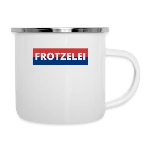FROTZELEI - Polizeikontrolle Geschenk Autofahrer - Emaille-Tasse