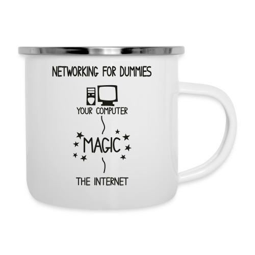 Network Schematic for Dummies - Camper Mug