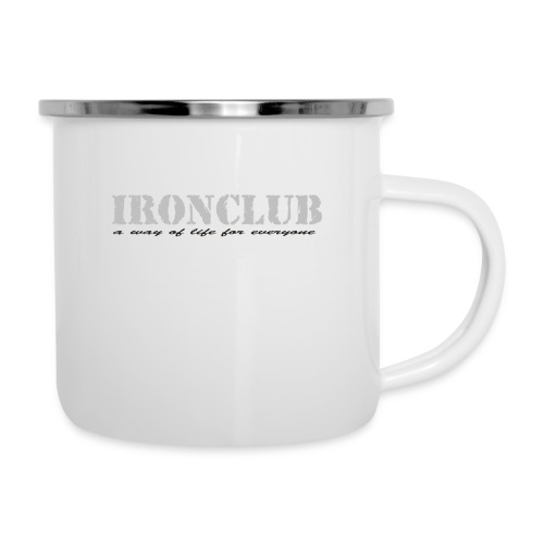 IRONCLUB - a way of life for everyone - Emaljekopp