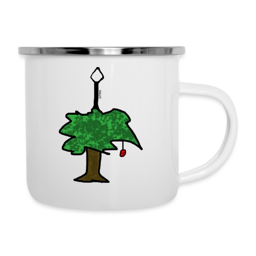 TREE OF FRUIT - Emaille-Tasse