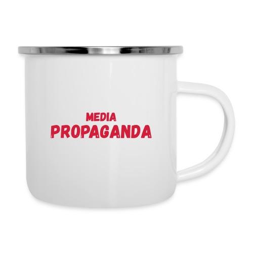 Media propaganda, propagande, fake news, mensonge - Tasse émaillée