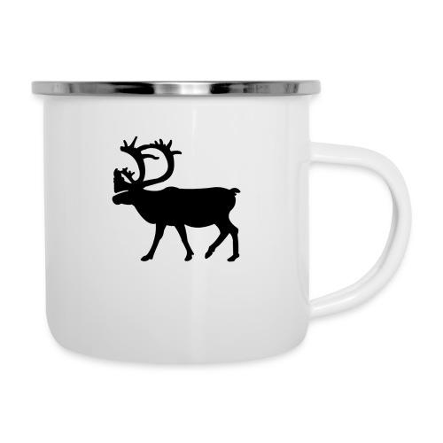 Le Caribou - Tasse émaillée