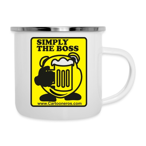 Simply the Boss - Camper Mug
