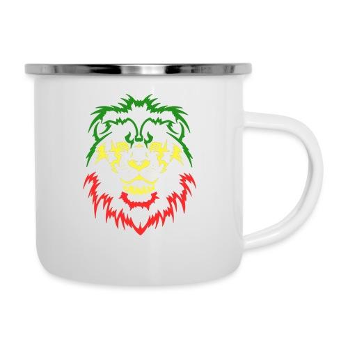 KARAVAAN Lion Reggae - Emaille mok