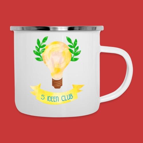 5 IDEEN CLUB Glühbirne 2018 - Emaille-Tasse