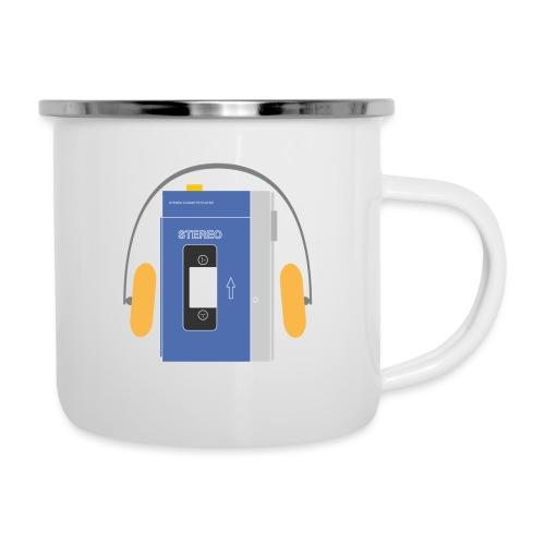 Stereo walkman in blue - Camper Mug