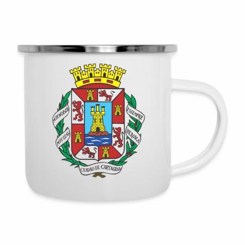 Escudo Cartagena - Taza esmaltada