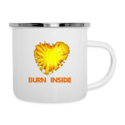 Burn inside - Tazza smaltata
