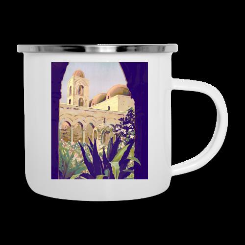 Palermo Vintage Travel Poster - Camper Mug