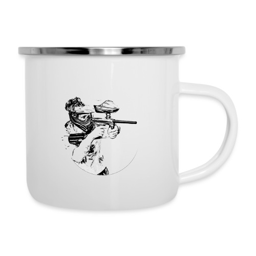 F4Y19 10 T Shirts light - Emaille-Tasse