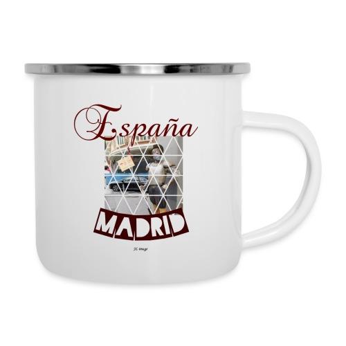 España madrid - Taza esmaltada