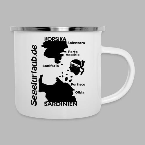 Korsika Sardinien Mori Shirt - Emaille-Tasse
