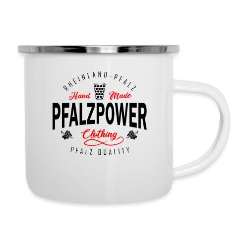 Pfalzpower Pfälzer Weinfest - Emaille-Tasse