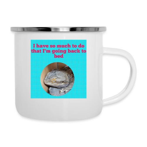 The sleeping dragon - Camper Mug