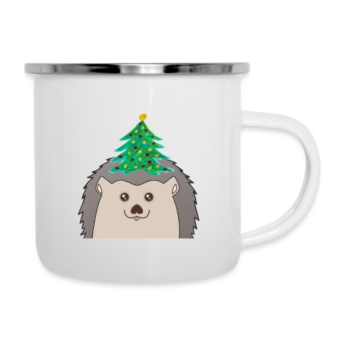 Hedtree - Emaille-Tasse