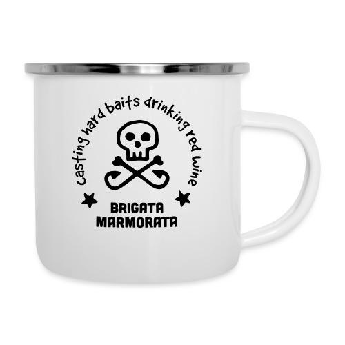 Brigata Marmorata - Tazza smaltata