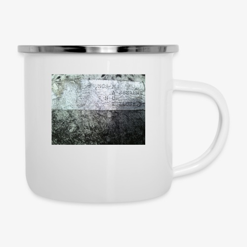 M A U T - Emaille-Tasse