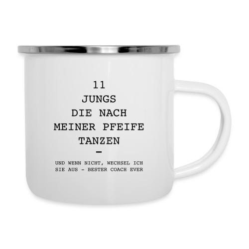 Pfeife COACH - Emaille-Tasse