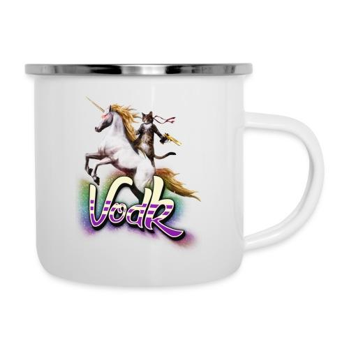 VodK licorne png - Tasse émaillée