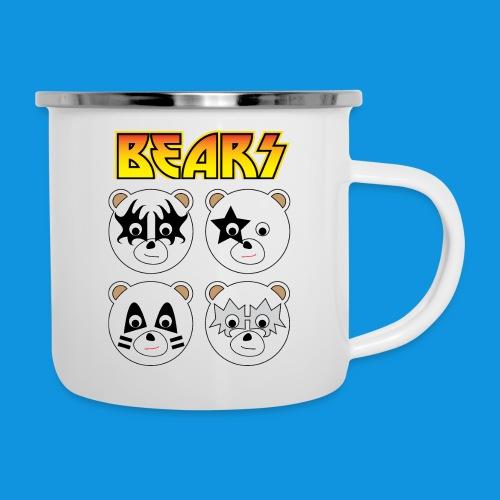 Kiss Bears square.png - Camper Mug