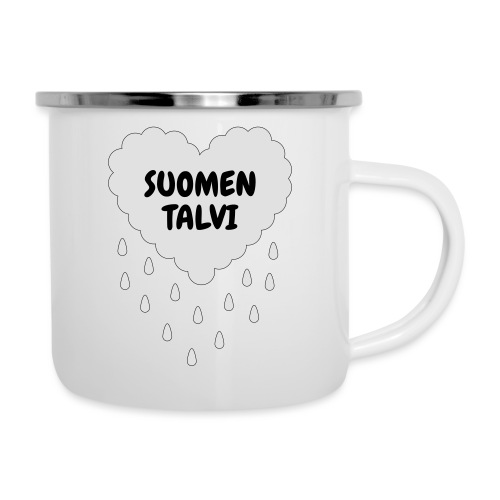 Suomen talvi - Emalimuki