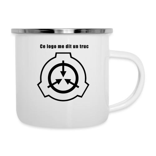 Mug SCP Ce Logo me dit un truc - Tasse émaillée