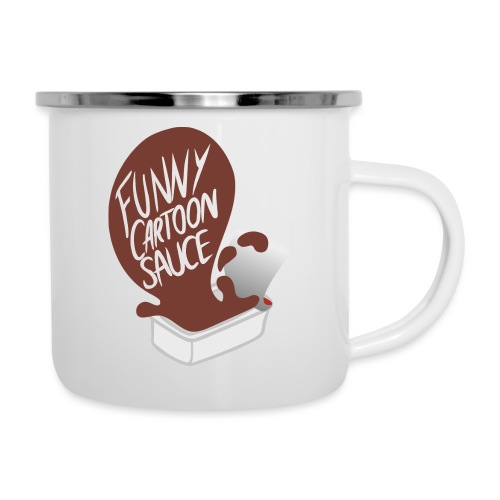 FUNNY CARTOON SAUCE - FEMALE - Camper Mug