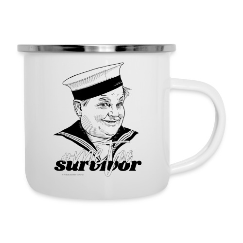 #metoo survivor - Emaljekrus