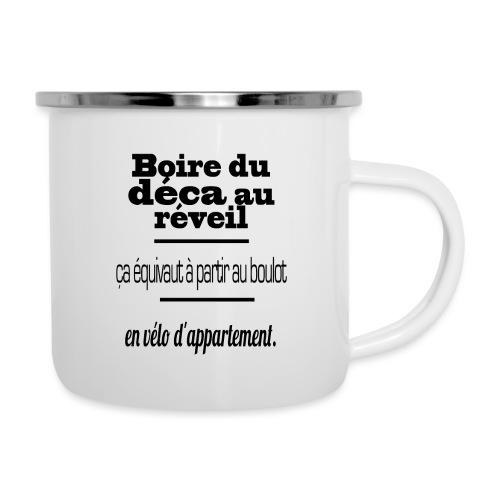café - Tasse émaillée