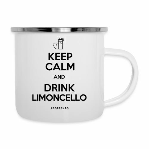 Restez calme et buvez du Limoncello - Tasse émaillée