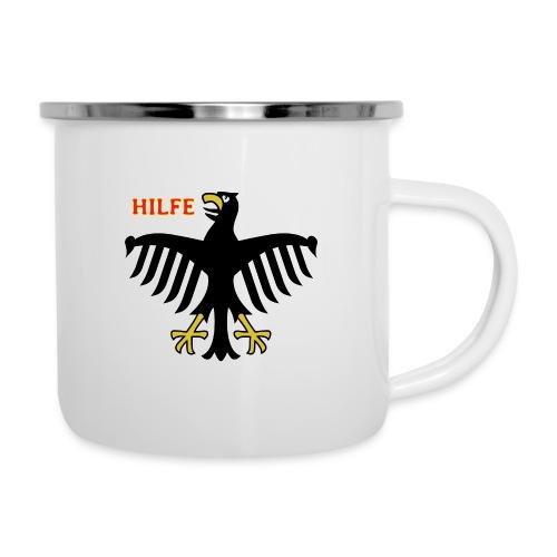 Deutschland in Not - Emaille-Tasse