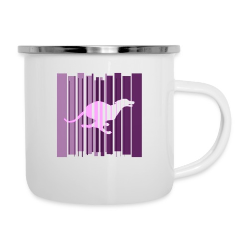 Sighthound In Purple Women's T - Camper Mug