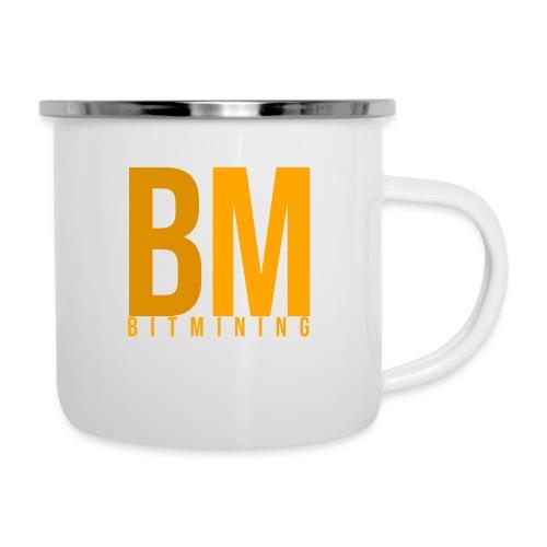 Logo Bitmining - Tasse émaillée