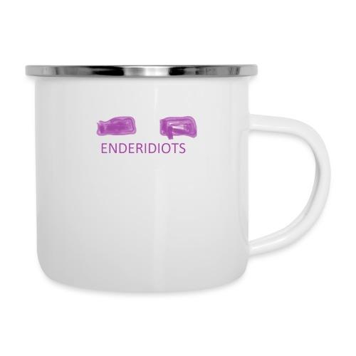 enderproductions enderidiots design - Camper Mug