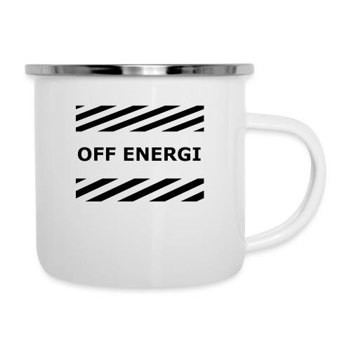 OFF ENERGI officiel merch - Emaljmugg