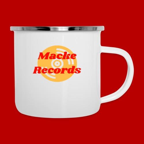 mackerecords merch - Emaljmugg