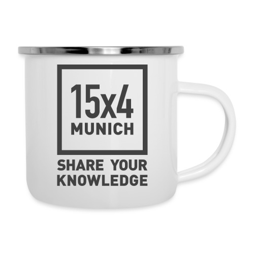 Share your knowledge - Emaille-Tasse