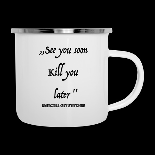 Haters - Emaille-Tasse