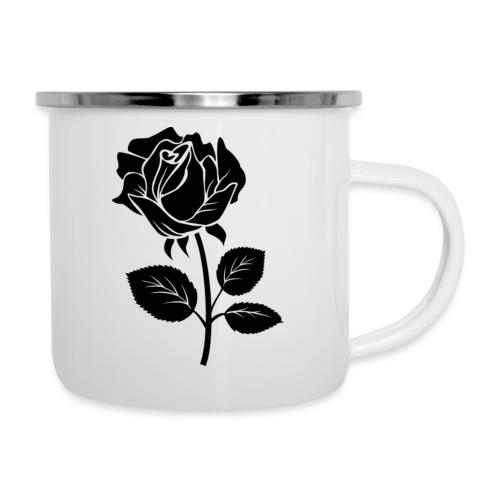 Rosa - Taza esmaltada
