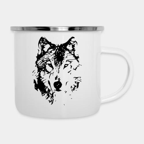 WOLF_03 - Kubek emaliowany