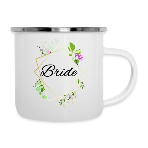 Braut - Emaille-Tasse