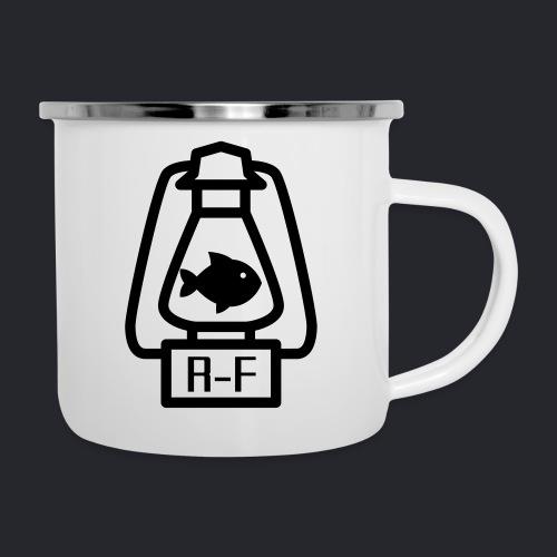 Logo Simple Black - Emaille-Tasse