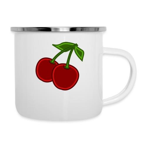 cherry - Kubek emaliowany