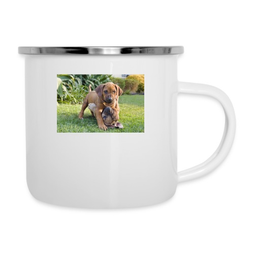 adorable puppies - Camper Mug